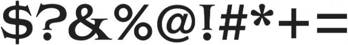 Griffon Semibold otf (600) Font OTHER CHARS