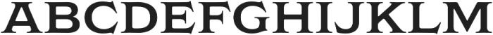 Griffon Semibold otf (600) Font LOWERCASE