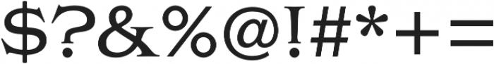 Griffon otf (400) Font OTHER CHARS