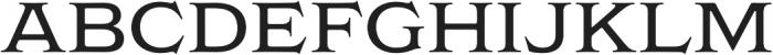Griffon otf (400) Font UPPERCASE