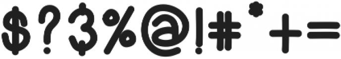 GrilledFontBold ttf (700) Font OTHER CHARS
