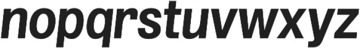 Grillmaster Bold Italic otf (700) Font LOWERCASE