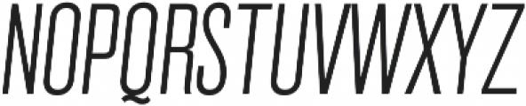 Grillmaster Cond Extra Light Italic otf (200) Font UPPERCASE