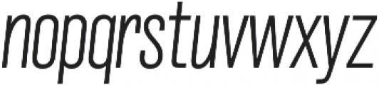 Grillmaster Cond Extra Light Italic otf (200) Font LOWERCASE