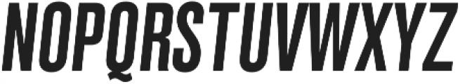 Grillmaster Cond Medium Italic otf (500) Font UPPERCASE