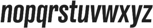 Grillmaster Cond Medium Italic otf (500) Font LOWERCASE