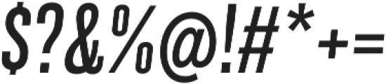 Grillmaster Cond Regular Italic otf (400) Font OTHER CHARS