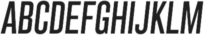 Grillmaster Cond Regular Italic otf (400) Font UPPERCASE