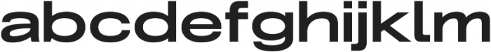 Grillmaster Expanded Bold otf (700) Font LOWERCASE