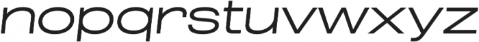 Grillmaster Expanded Light Italic otf (300) Font LOWERCASE