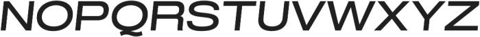 Grillmaster ExtWide Medium Italic otf (500) Font UPPERCASE