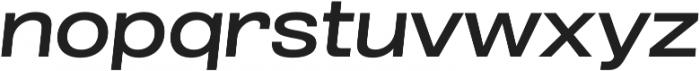 Grillmaster ExtWide Medium Italic otf (500) Font LOWERCASE