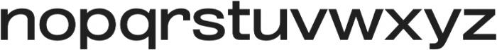 Grillmaster ExtWide Medium otf (500) Font LOWERCASE