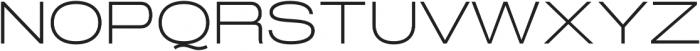 Grillmaster Extended Extra Light otf (200) Font UPPERCASE