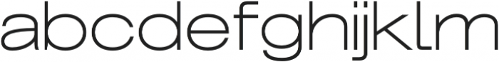 Grillmaster Extended Extra Light otf (200) Font LOWERCASE