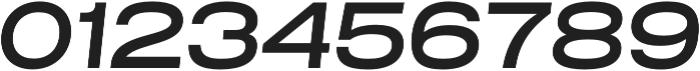 Grillmaster Extended Medium Italic otf (500) Font OTHER CHARS