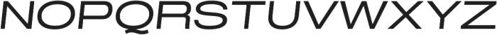 Grillmaster Extended Regular Italic otf (400) Font UPPERCASE