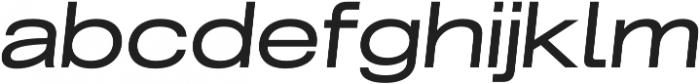 Grillmaster Extended Regular Italic otf (400) Font LOWERCASE