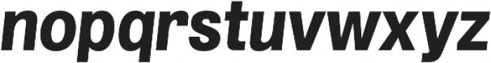 Grillmaster Extra Bold Italic otf (700) Font LOWERCASE