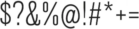 Grillmaster Narrow Extra Light otf (200) Font OTHER CHARS