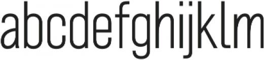 Grillmaster Narrow Extra Light otf (200) Font LOWERCASE