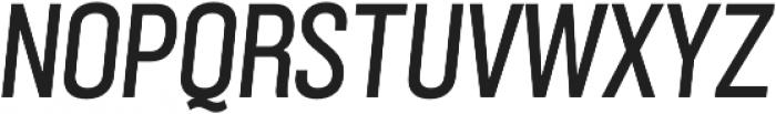 Grillmaster Narrow Regular Italic otf (400) Font UPPERCASE