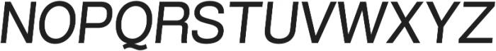 Grillmaster SemiWide Regular Italic otf (400) Font UPPERCASE