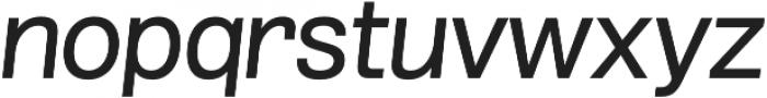 Grillmaster SemiWide Regular Italic otf (400) Font LOWERCASE