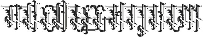 Grimeplex ttf (400) Font UPPERCASE