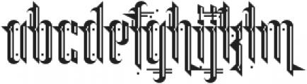 Grimeplex ttf (400) Font LOWERCASE