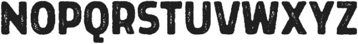 Grimpt Print Bold Rust otf (700) Font UPPERCASE