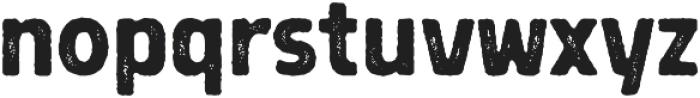 Grimpt Print Bold Rust otf (700) Font LOWERCASE