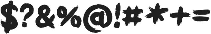 Griphite Black otf (900) Font OTHER CHARS