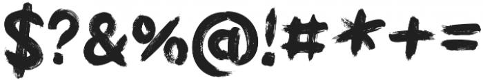 Griphite otf (400) Font OTHER CHARS