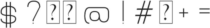 Grison otf (300) Font OTHER CHARS
