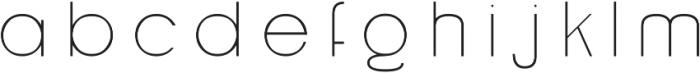Grison otf (300) Font LOWERCASE