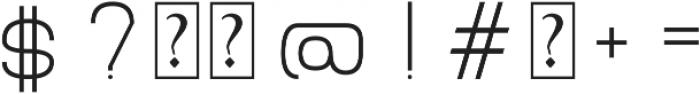 Grison otf (400) Font OTHER CHARS