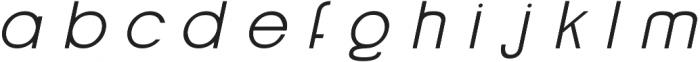 Grison otf (700) Font LOWERCASE