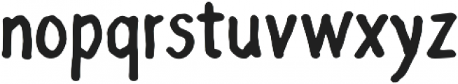 Grocery Rounded ttf (400) Font LOWERCASE