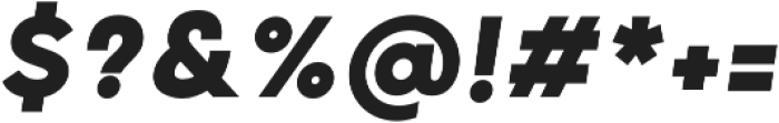 Grold ExtraBold Italic otf (700) Font OTHER CHARS