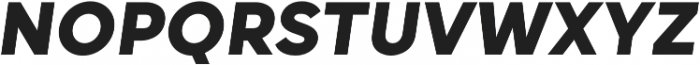 Grold ExtraBold Italic otf (700) Font UPPERCASE