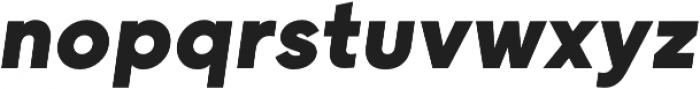 Grold ExtraBold Italic otf (700) Font LOWERCASE