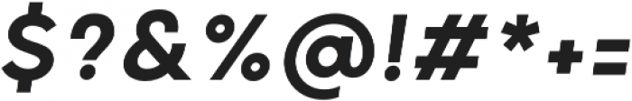 Grold Medium Italic otf (500) Font OTHER CHARS