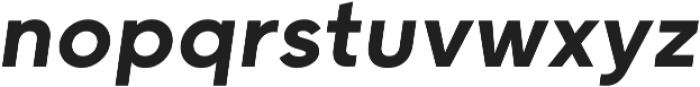 Grold Medium Italic otf (500) Font LOWERCASE