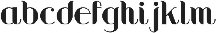 Gromecks otf (400) Font LOWERCASE