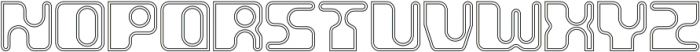 Groovy Inline otf (400) Font UPPERCASE