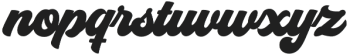 Groovy Script Regular otf (400) Font LOWERCASE