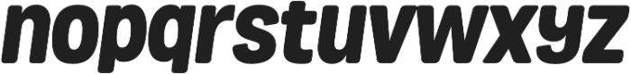 Grota Rounded Black Italic otf (900) Font LOWERCASE