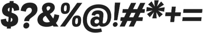 Grota Sans Alt ExtraBold Italic otf (700) Font OTHER CHARS