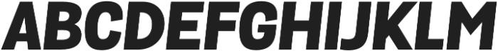 Grota Sans Alt Heavy Italic otf (800) Font UPPERCASE